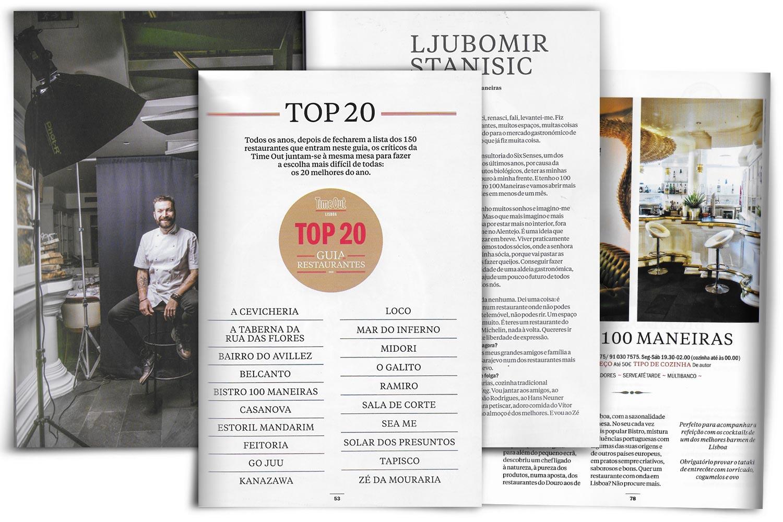 Guia de Restaurantes 2018 -Time Out Lisboa